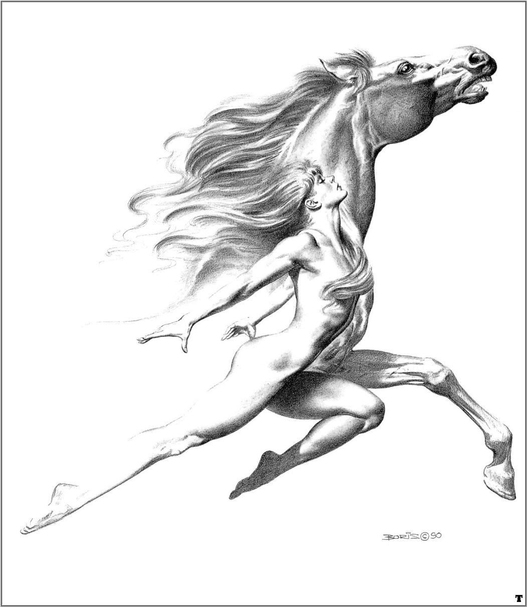 Fantasy Art Boris Vallejo