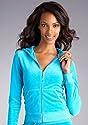 Juicy Couture Long Sleeve Velour Zip Hoodie Loungewear