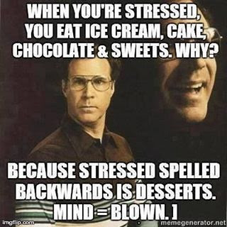 Stressed Spelled Backwards Is Desserts Pictures Photos And Images