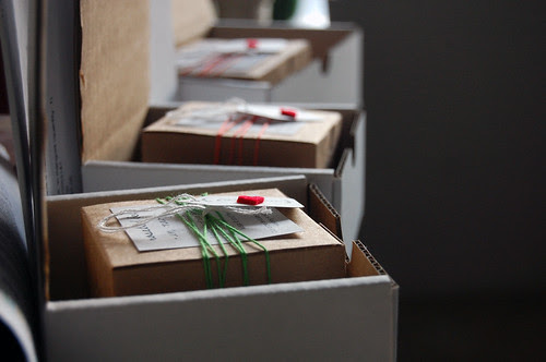 orders, packed