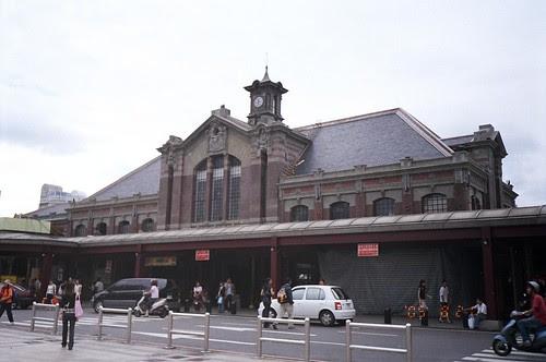 台中火車站照片
