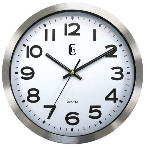 Kitchen Wall Clocks Geneva 10 Inch Metal Wall Clock