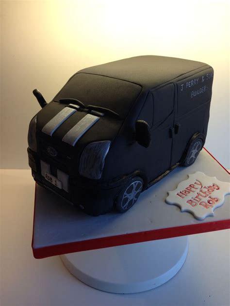 Ford transit van cake   Fondant / Vehicles   Pinterest