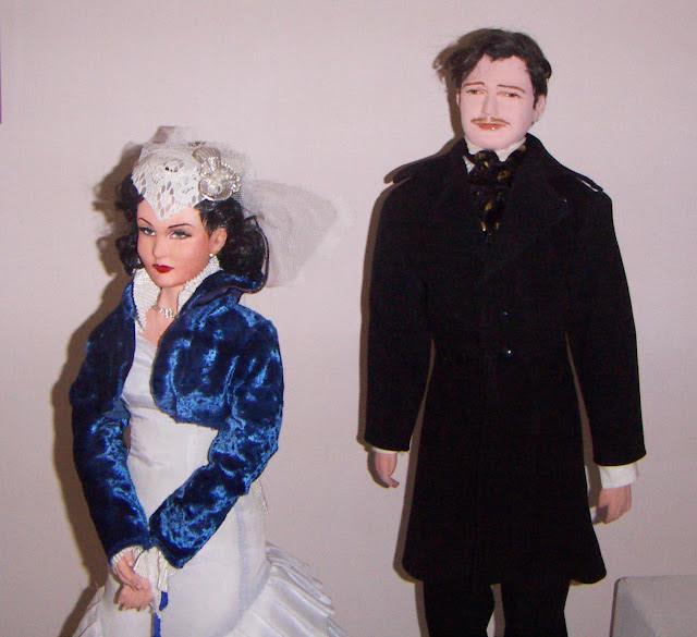 Dolls of Scarlett O'Hara and Rhett Butler, Gone with the Wind