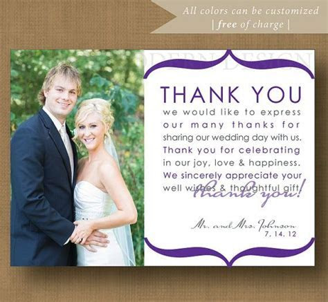 12 best images about ~ Wedding Thank You Examples ~ on