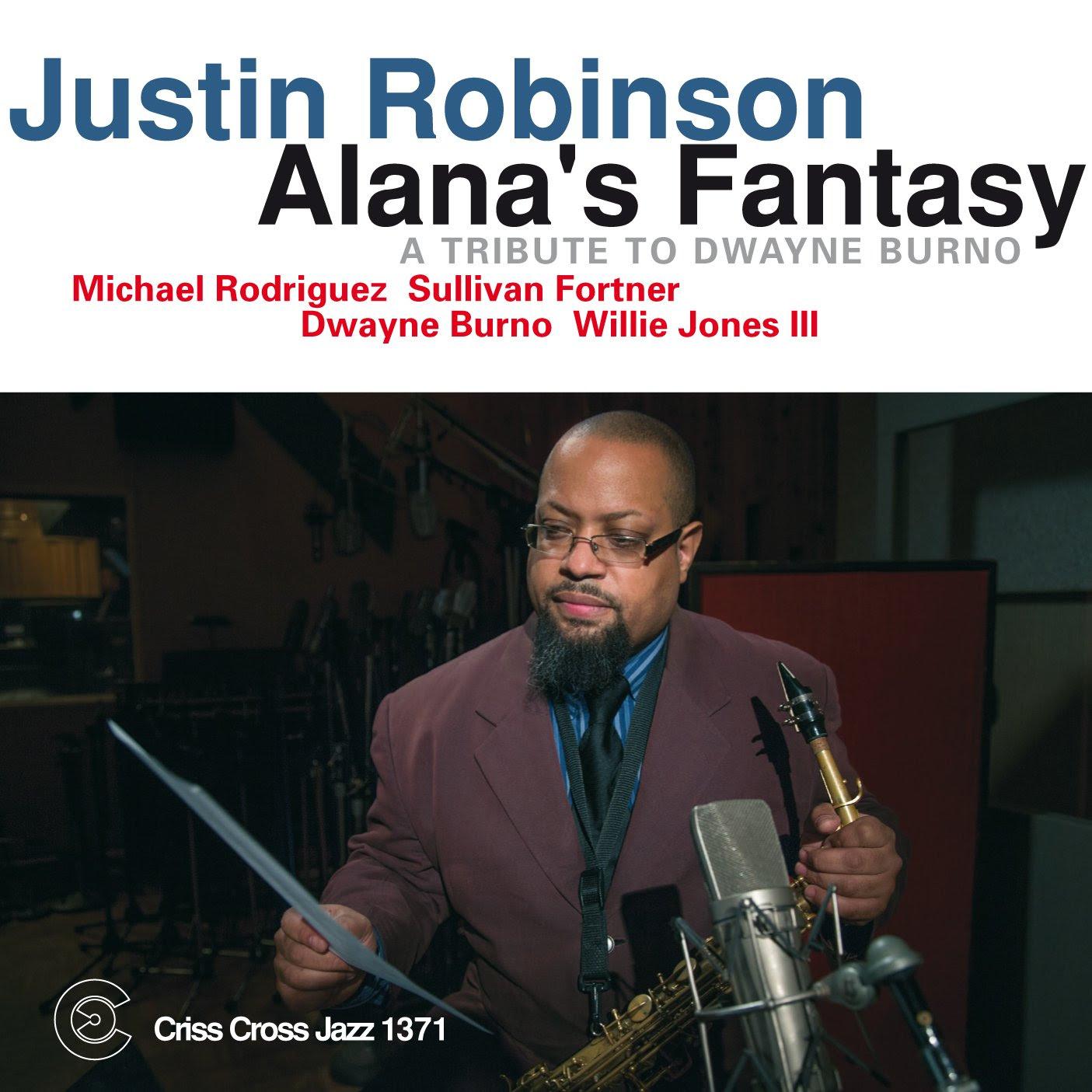Justin Robinson - Alana's Fantasy  cover