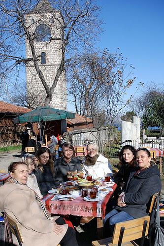 Aya Sofya'da kahvaltı