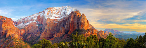 """""""Temples Of Kolob""""  Zion National Park"""" By Robert Park  http://www.robert-park.com by Robert Park Photography"""
