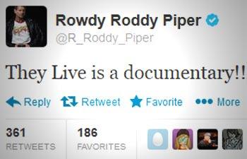Αποτέλεσμα εικόνας για roddy piper they live is a documentary