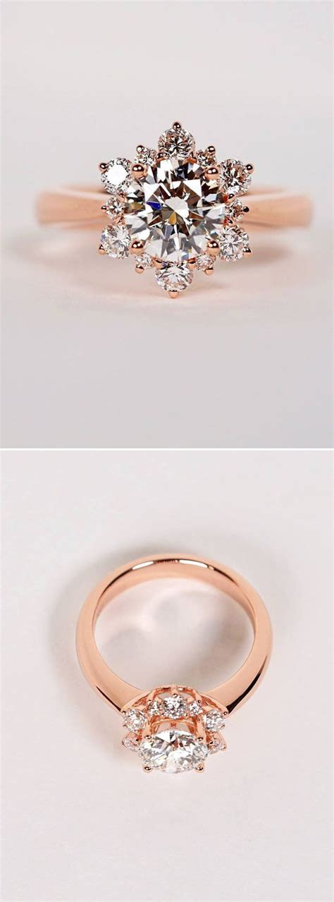 25  Best Ideas about Rose Gold Rings on Pinterest