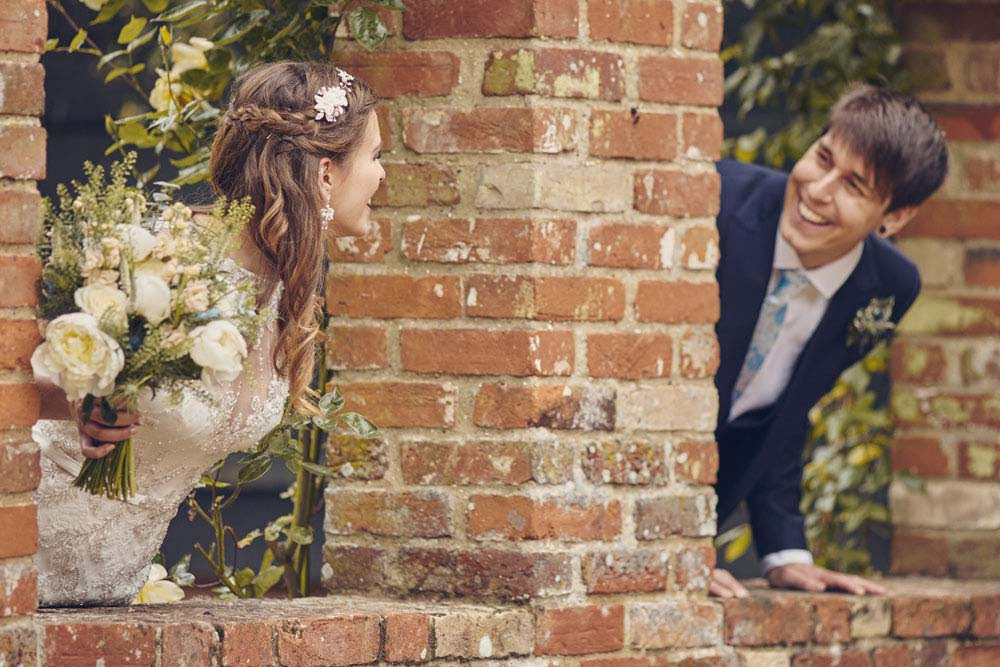 Cute Suffolk wedding photo - www.helloromance.co.uk