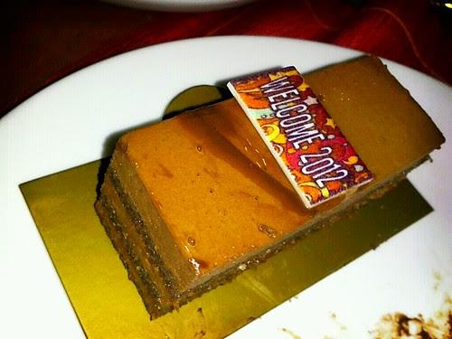 I'll eat this 2012 mini cake by popazrael
