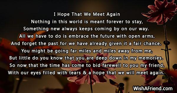 Farewell Poems