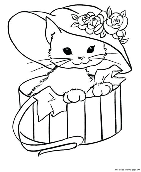 real kitten coloring pages  getcoloringscom