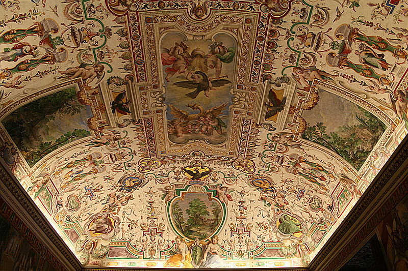 File:Plafond Sale Sistine - Salle des Archives pontificales (1).jpg