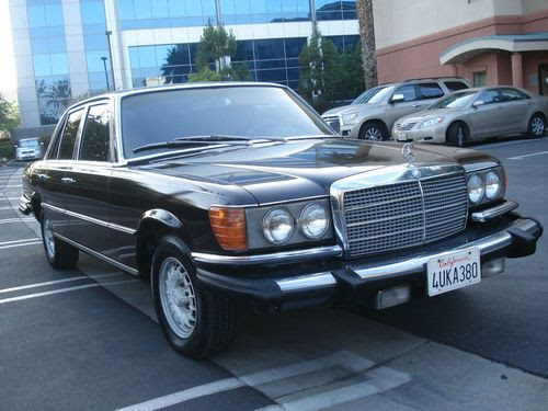 Sell used 1980 MERCEDES BENZ 300SD TURBO DIESEL W116 ...