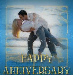 Happy Anniversary! Kisses Greetings   DesiComments.com