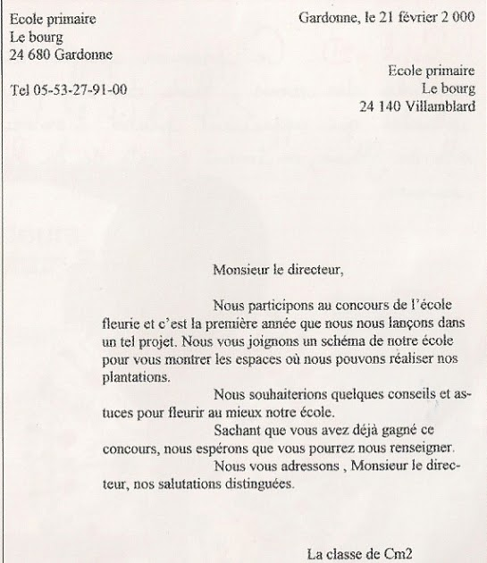lettre de motivation institutrice primaire belgique