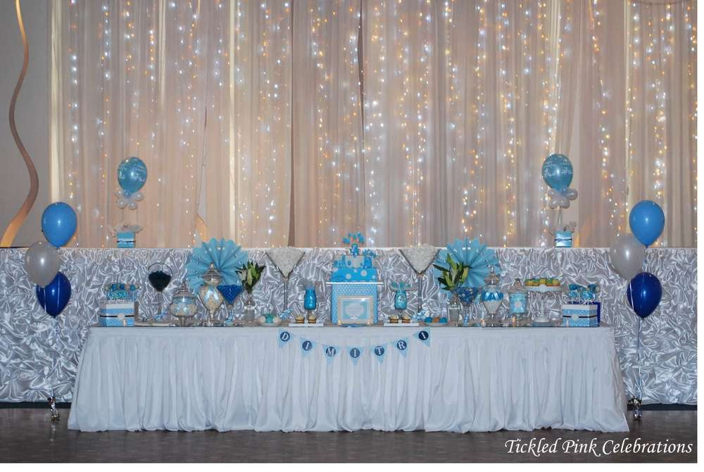 Christening Table Decoration Ideas Elitflat