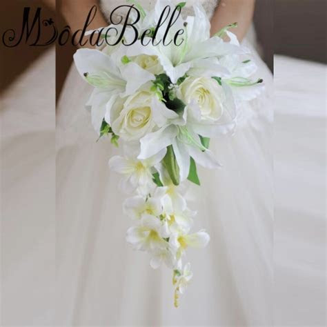 Popular Cascading Wedding Bouquet Buy Cheap Cascading
