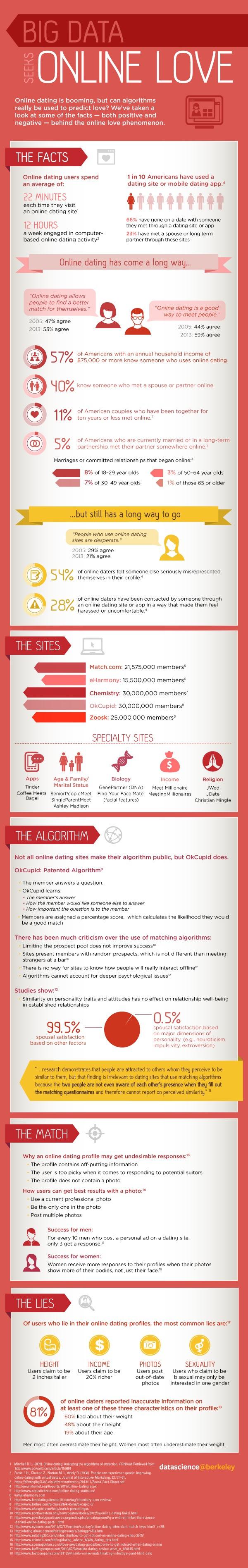 Infographic: Big Data Seeks Online Love #infographic