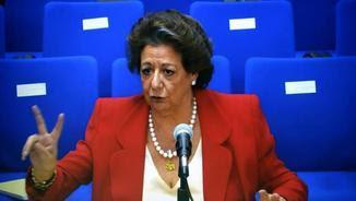 """Rita Barberá en la compareixença com a testimoni en el judici pel """"cas Nóos"""" (EFE)"""