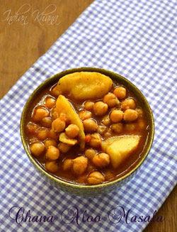 Chana Aloo Masala Chole Chawal Recipe