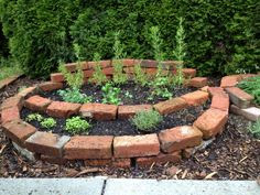 Brick in the garden on Pinterest