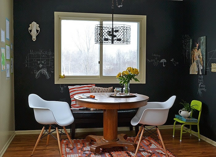 Painted Chalkboard Walls