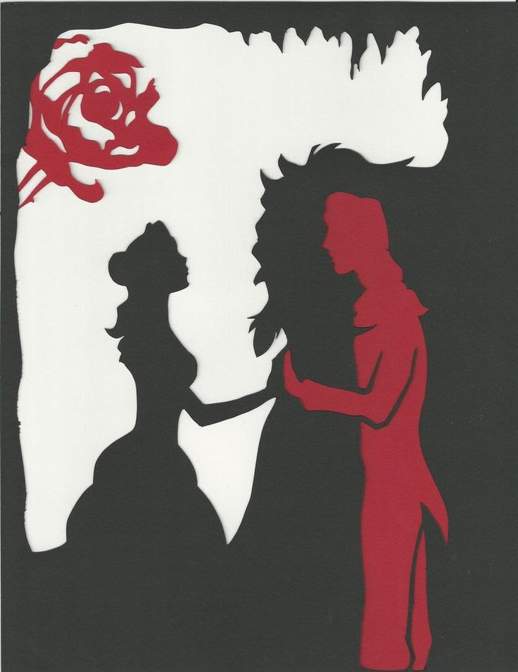beauty and the beast <3 LOVE this
