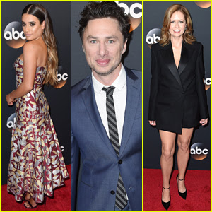 Lea Michele, Zach Braff, & Jenna Fischer Bring Their New Shows to ABC Upfronts