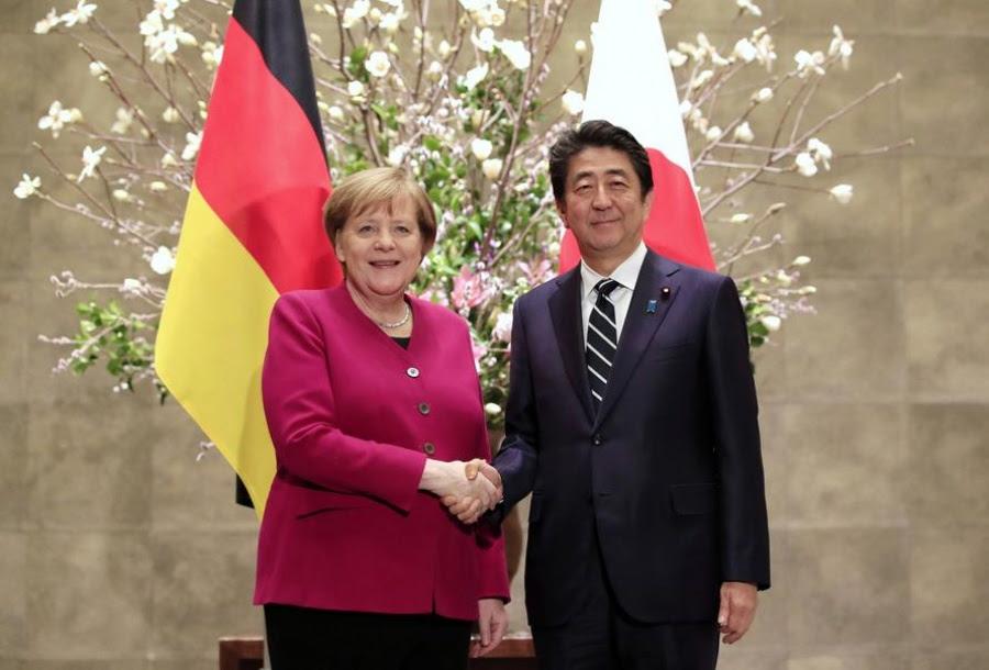 Oriental Review: Η συμμαχία Γερμανίας – Ιαπωνίας σε τροχιά σύγκρουσης με τον Trump