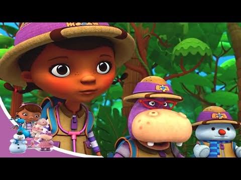 Доктор Плюшева - Настоящее сафари: Ослепительная игрушка. Часть 1| Мультфильм Disney про игрушки
