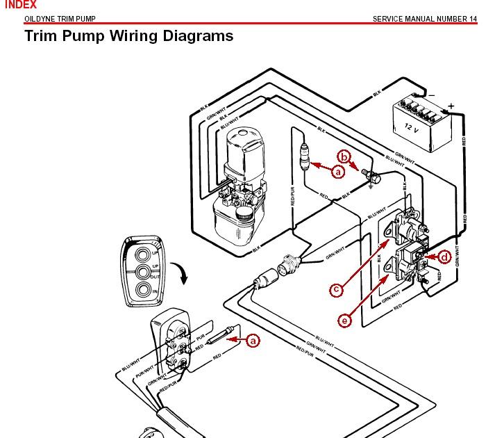 31 Mercruiser Trim Solenoid Wiring Diagram