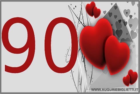 Auguri Di Buon Compleanno 90 Anni.Auguri Di Compleanno Nonna 90 Anni