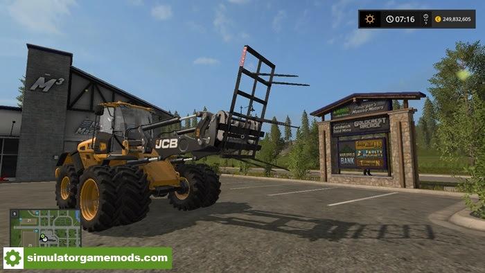Fs17 Wheel Loader Bale Fork V  1 Simulator Games