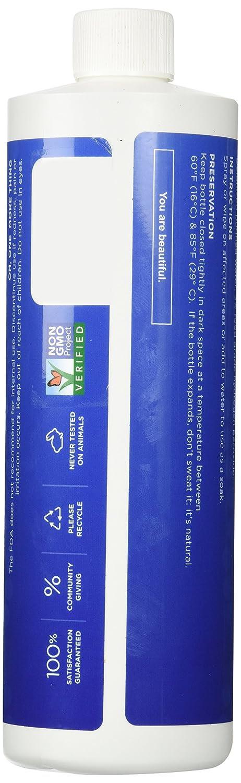 Amazon.com: Essential Oxygen+ Hydrogen Peroxide 3% Food Grade 16 ...