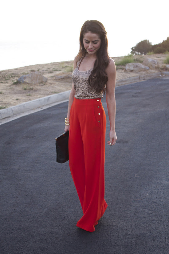 Outfit of the week - Lipstick & Ruffles (1)