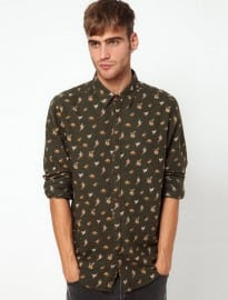 River Island Shirt With Country Print