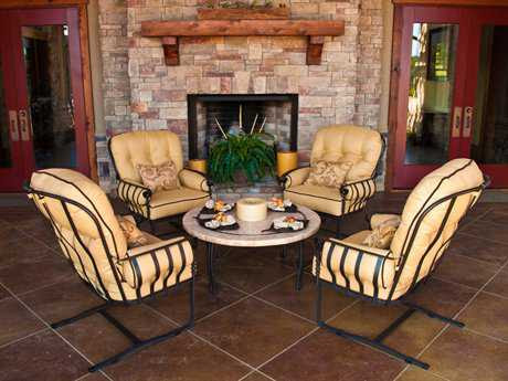 Meadowcraft Athens Patio Outdoor Furniture Collection at ...