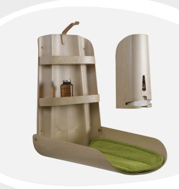 Do You Know Who Makes This Molded Ply, Fold-Down Changing Table ...