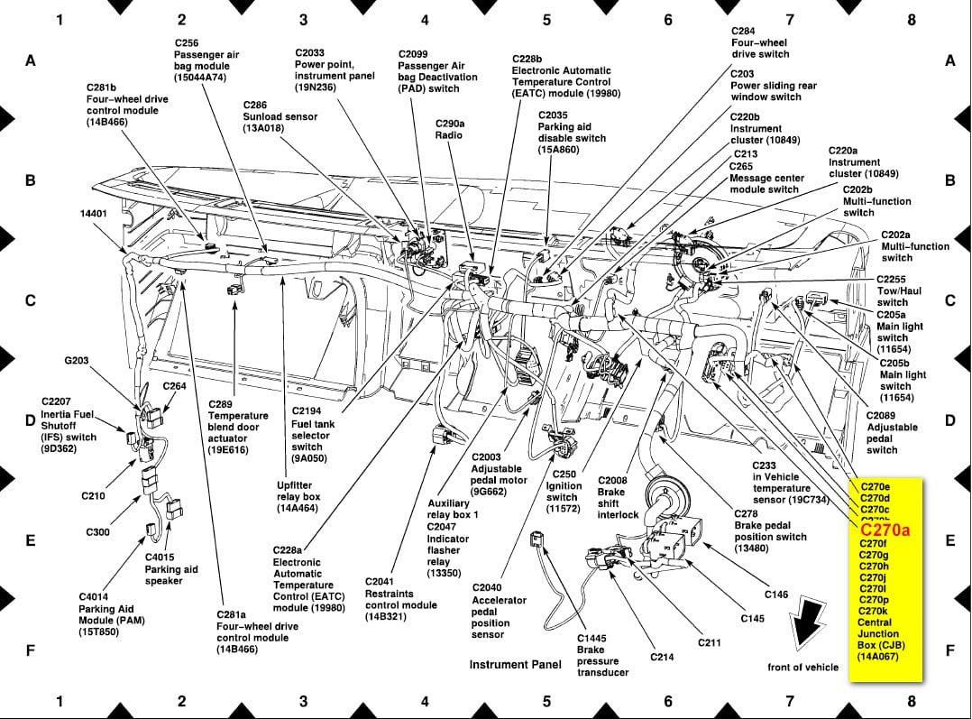 Wiring Diagram  12 73 Powerstroke Injector Harness Diagram