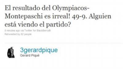 Ποια Σακίρα; Τρελαμένος με Ολυμπιακό ο Πικέ!