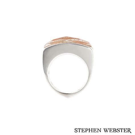 stephen webster  white gold crystal haze coral