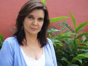 Lia Salgado, colunista do G1, ficou três anos estudando até ser aprovada em concurso (Foto: Viviane Mateus/G1)