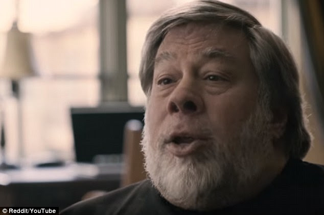 Steve Wozniak (pictured) criticised the complexity and non world changing nature of the Apple Watch line, but lavished praise on the firm's CEO, Steve Cook and its rumoured plans to make a self-driving car