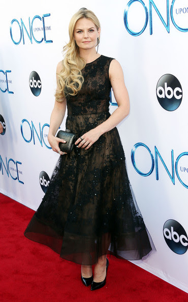 Actress Jennifer Morrison attends the Screening of ABC's 'Once Upon A Time' Season 4 at the El Capitan Theatre on September 21, 2014 in Hollywood, California.