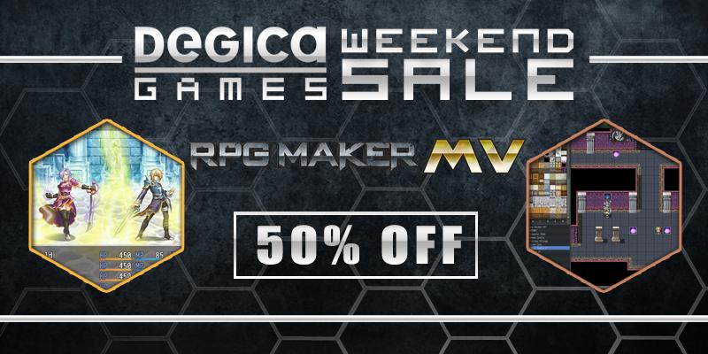Fwd: Degica Games Weekend Sale Featuring RPG MAKER! - Google Groups