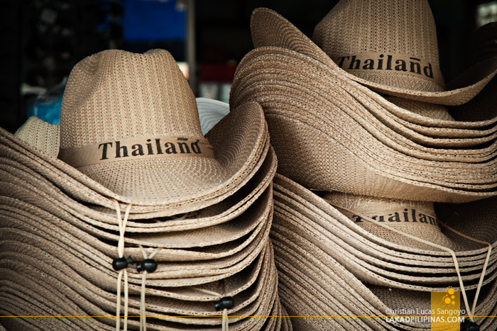 Souvenirs at Thailand's Phang Nga Bay