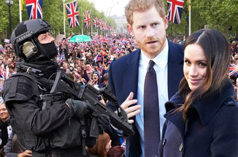 Royal Wedding: Security boss issues chilling terror
